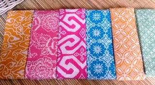 batik satu warna