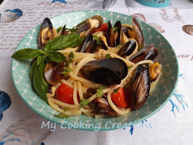 Спагети с миди * Spaghetti con le cozze