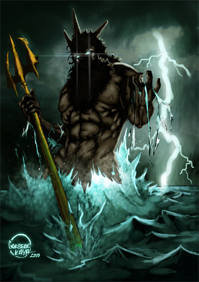 Poseidon (Neptune) – Greek God of the Sea