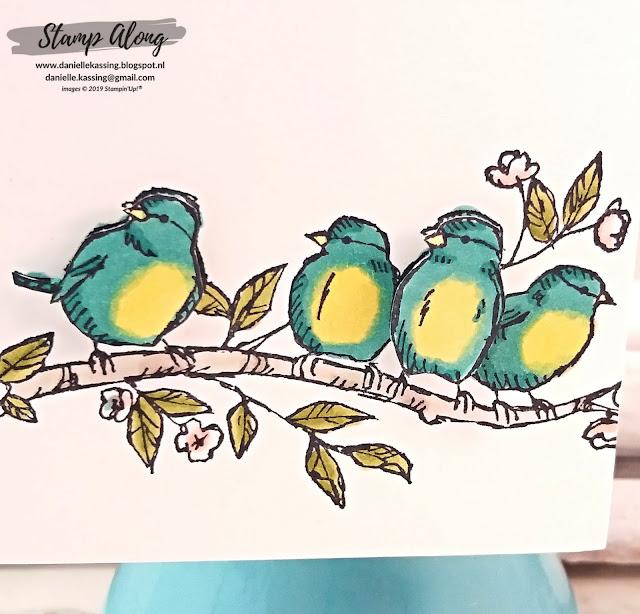 Stampin' Up! Free as a bird