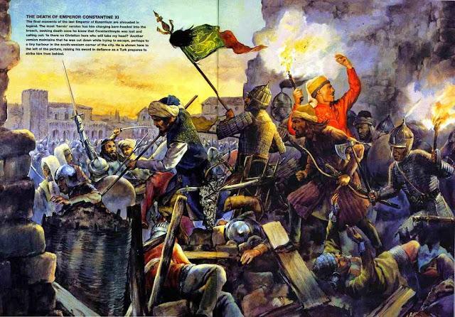 Constantinopla foi desde sua fundação uma cidade greco-romana. Os turcos invadiram sem nenhum direito nem argumento, salvo o Corão.