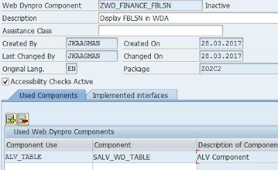 SAP ALV, SAP ABAP Web Dynpro