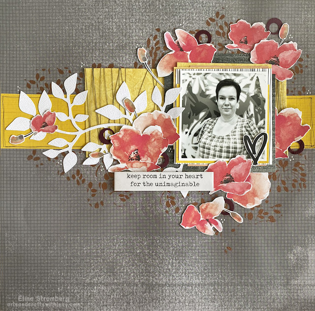 Scrapbooking Layout: Room for unimaginable