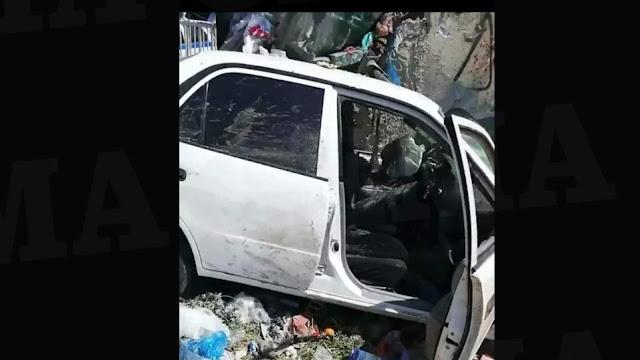 Σοκαριστικό δυστύχημα στο Καματερό: Πήγε να πετάξει τα σκουπίδια και τον παρέσυρε αυτοκίνητο