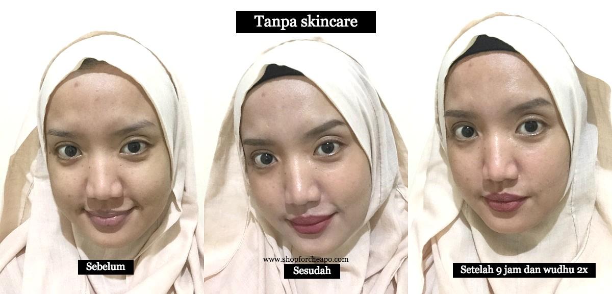 Tes Ketahanan Sunny Dahye COSRX Sunny Snail Tone Up Cream