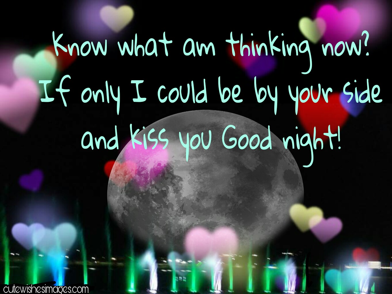 Good Night Greeting Messages Cute Wishes Images Quotes Love