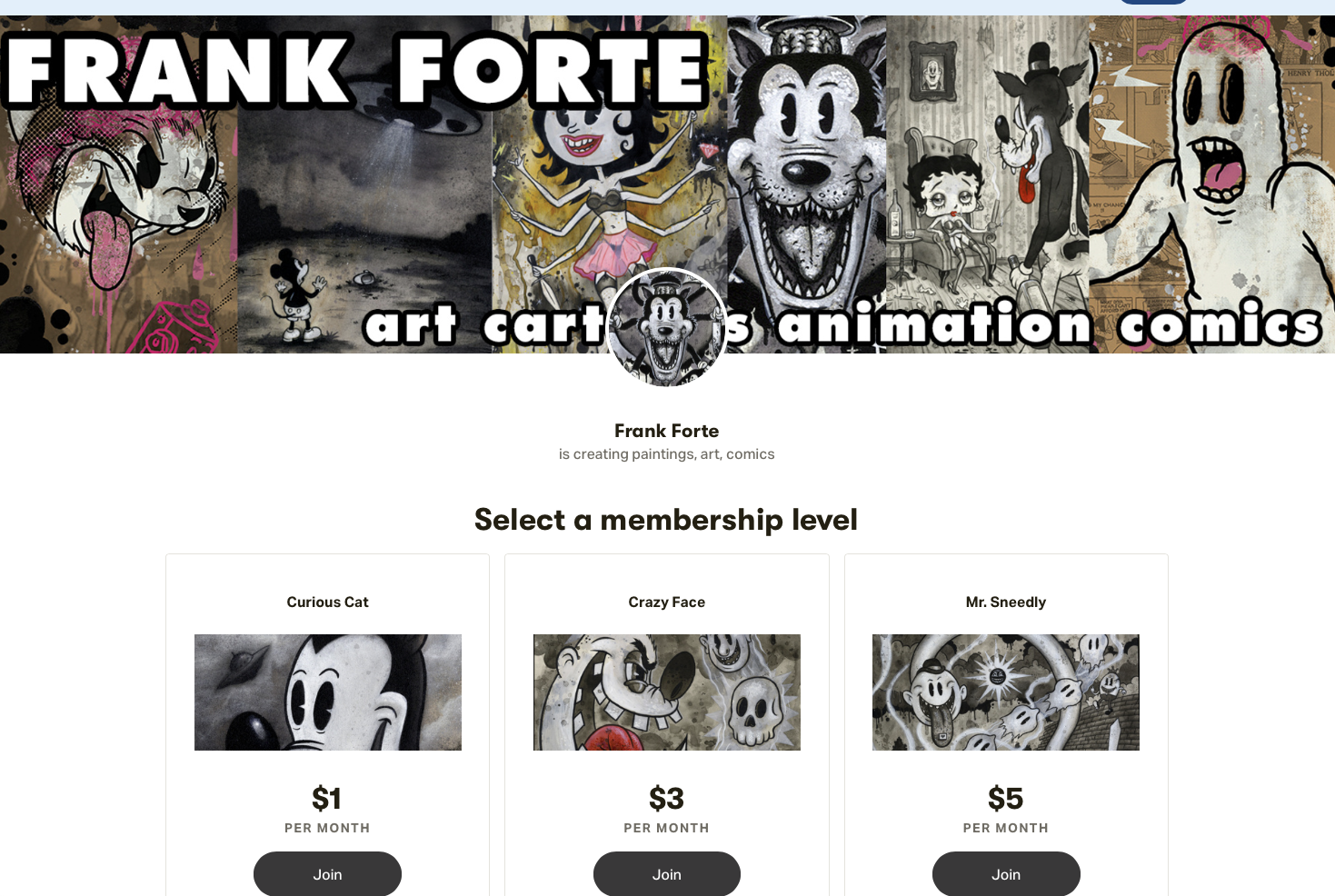 Frank Forte on Patreon