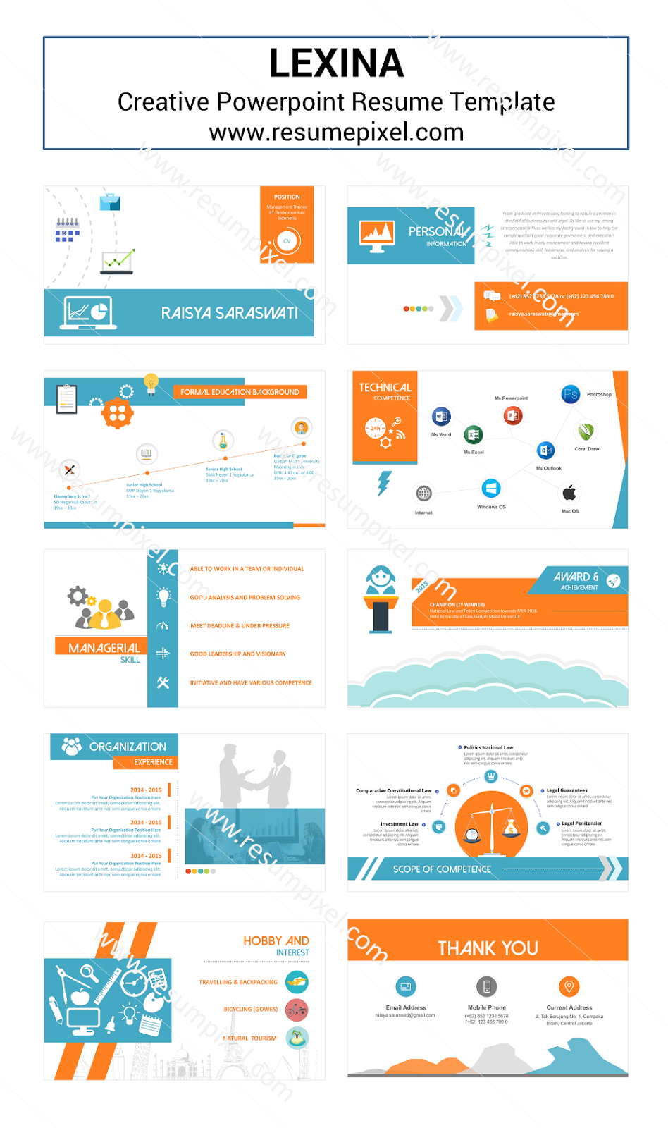 Infographic Resume Template Ppt. infographic resume template ...