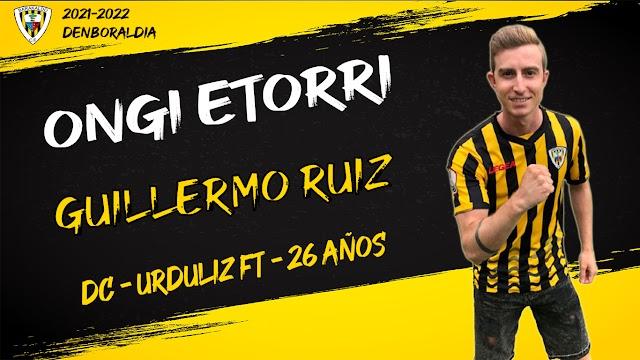Fútbol. El Barakaldo CF refuerza la delantera con Guille Ruiz, procedente del Urduliz