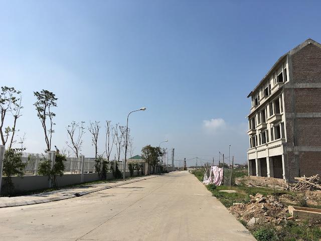 Những con đường lớn nội khu dự án