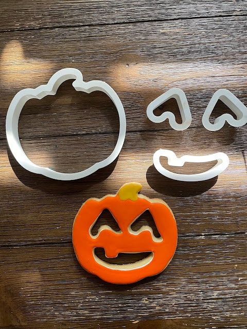 Jack' o lantern cookie cutter/The Cookie Couture Cookie Cutters