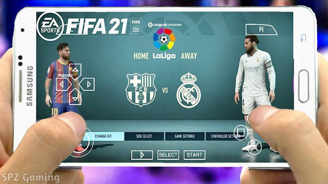 FIFA 21 PPSSPP Android Offline 600MB Best Graphics Real Faces Kits 21 & Full Transfers Update