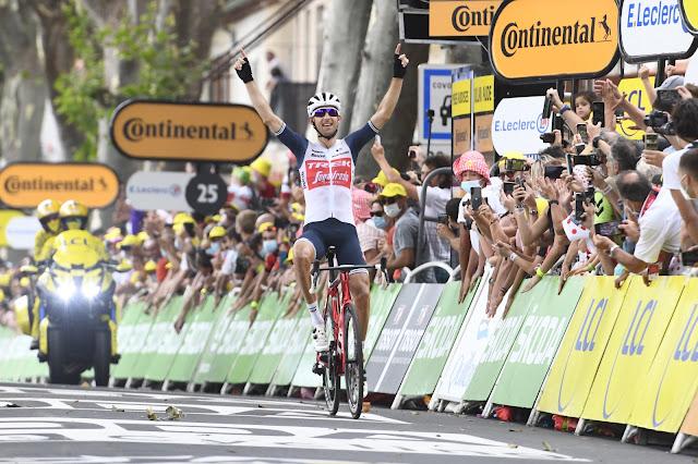 Bauke Mollema volta a vencer uma etapa do Tour de France após quatro anos