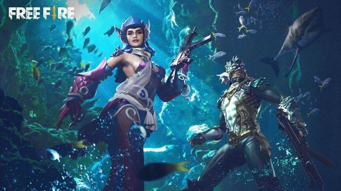 Skins do fundo do mar criam uma bela imagem para o seu plano de fundo