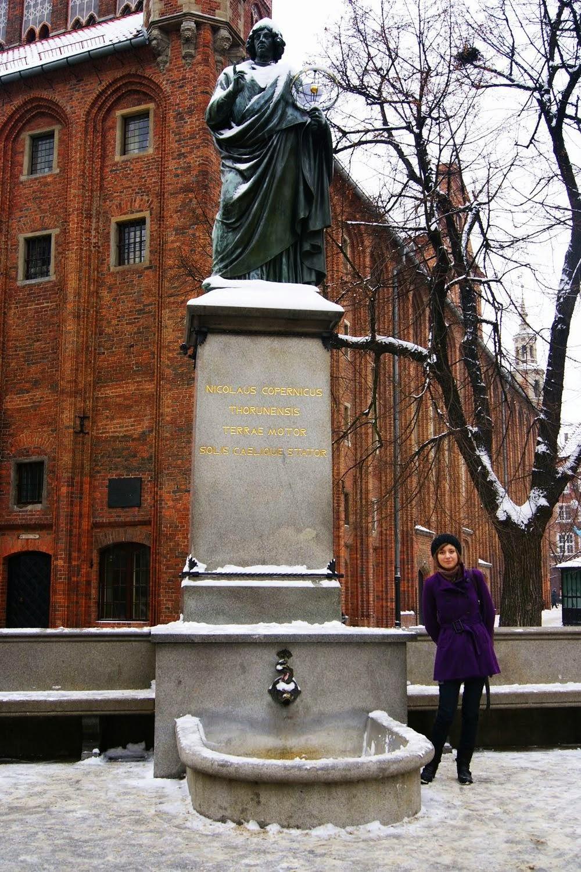 Toruń pomnik Kopernika