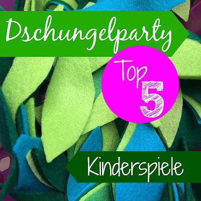 Top 5 Spiele für den Kindergeburtstag bei einer Dschungelparty