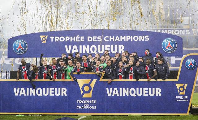 ملخص مباراة باريس سان جيرمان ومارسيليا (2-1) في كأس السوبر الفرنسي