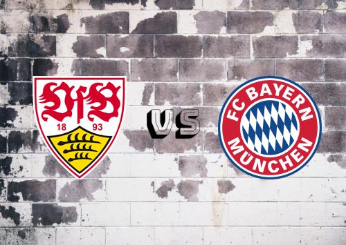 Stuttgart vs Bayern München  Resumen y Partido Completo