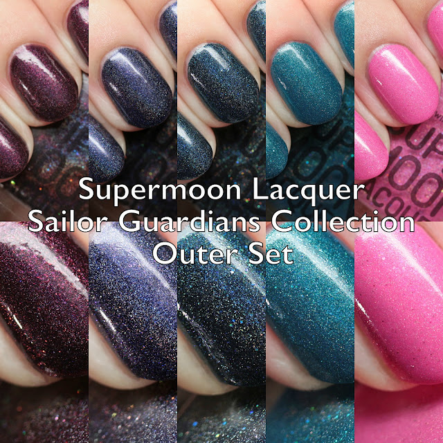 Supermoon Lacquer Sailor Guardians Collection Outer Set