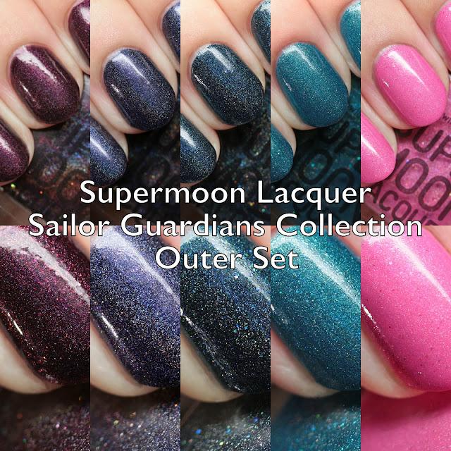 Supermoon Lacquer Sailor Guardians Collection Outer Set