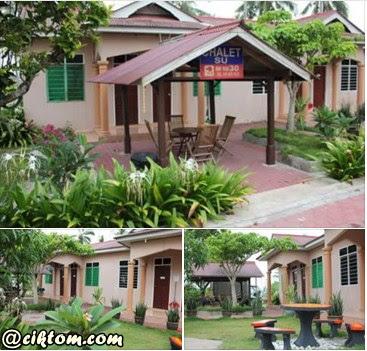 Penginapan di Chalet Su Marang, Terengganu