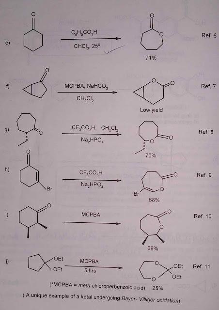 Baeyer Villiger oxidation 2