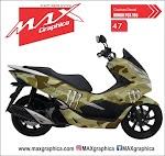PCX doreng Padang pasir