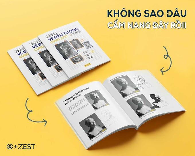 Sách dạy vẽ - 3 cuốn cẩm nang vẽ mỹ thuật do Zest phát hành