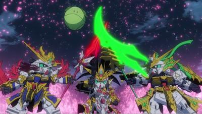 SD Gundam World: Sangoku Souketsuden Episode 01 Subtitle Indonesia