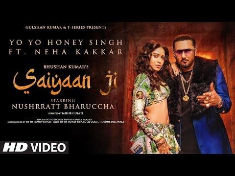 Saiyaan Ji Song Lyrics-  Yo Yo Honey Singh And Neha Kakkar