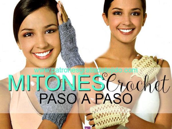como-tejer-mitones-crochet
