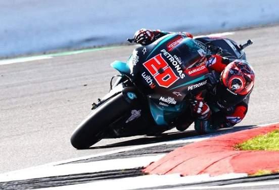 Fabio Quartararo Motogp Silverstone Inggris 2019