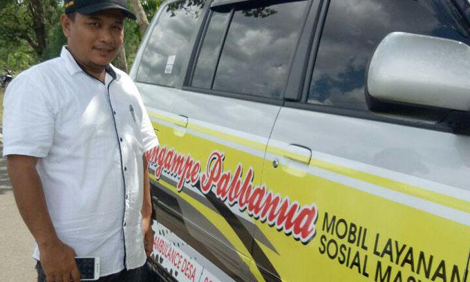 Pemerintah Desa Wanua Waru Sediakan Mobil Layanan Sosial