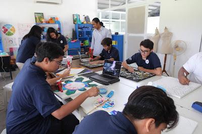 Di Yogyakarta Independent School, setiap anak unik, dan bebas berkreasi sesuai keunikannya masing-masing