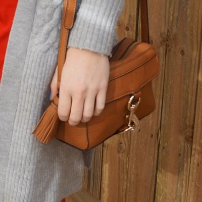 Rebecca Minkoff MAB Camera Bag in almond | awayfromtheblue