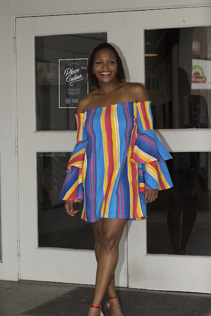 Rainbow Dress  - Mccall 7563