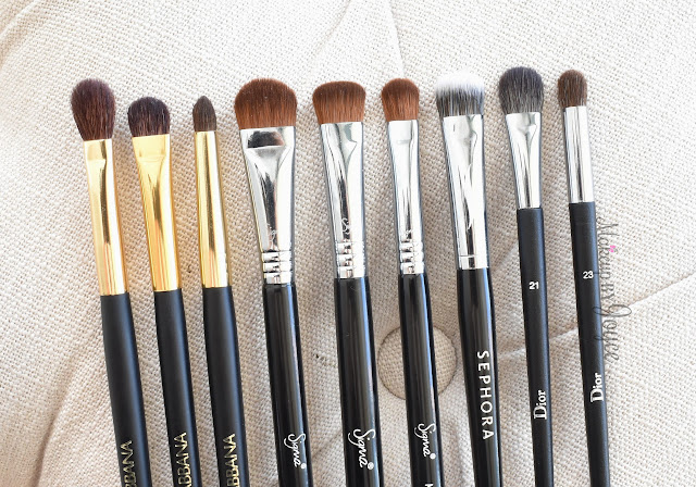 Dior Professional Finish Backstage Eye Brushes Review Dolce & Gabbana
