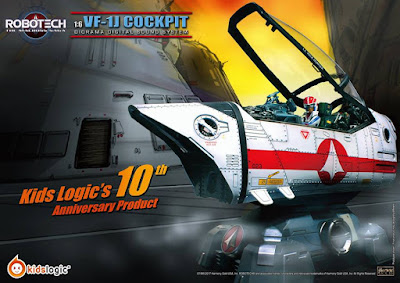 Robotech Macross VF-1J 1:6 Cockpit Diorama Digital Sound System