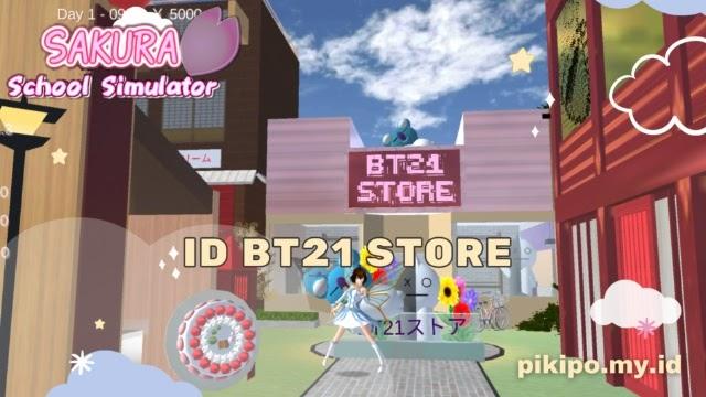 ID Toko BT21 Di Sakura School Simulator