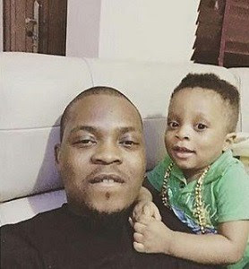 Olamide Shares Lovely Photo Of His Son Rocking A Batman Suit