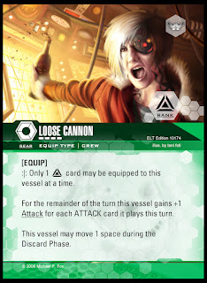 Equip type: Loose Cannon