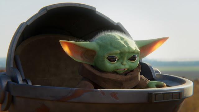 Plano de Fundo Bebê Yoda HD