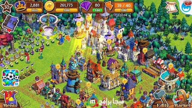 لعبة القلاع كاستل ستوري Castle Story