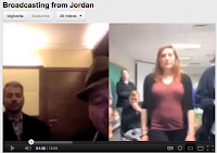 Photo of Skype Broadcast from Jordan