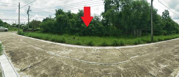 แบ่งขายที่ดินเปล่า 4 แปลง แปลงละ 46 ตร.ว. หมู่บ้านนครินทร์การ์เด้น ติดถนนร่มเกล้า ลาดกระบัง