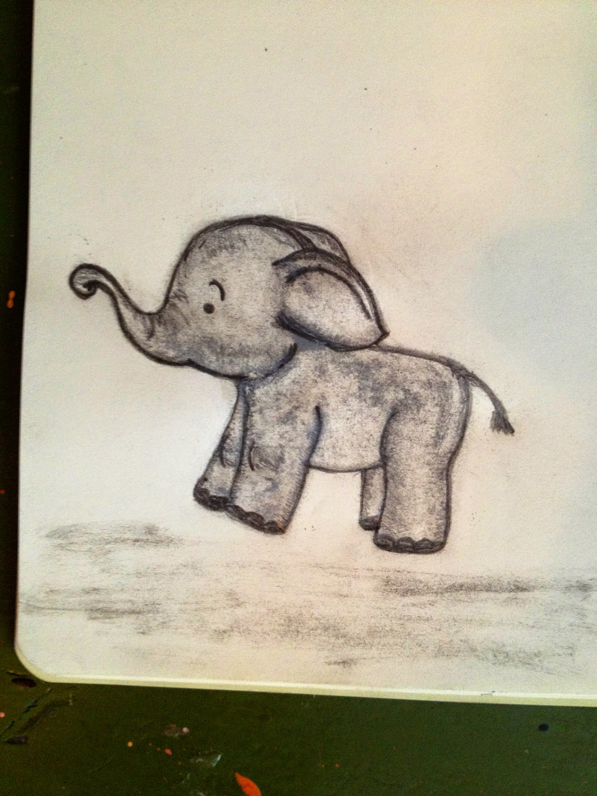 Baby Room Drawing: LifeLookLens: Baby Elephant Drawings