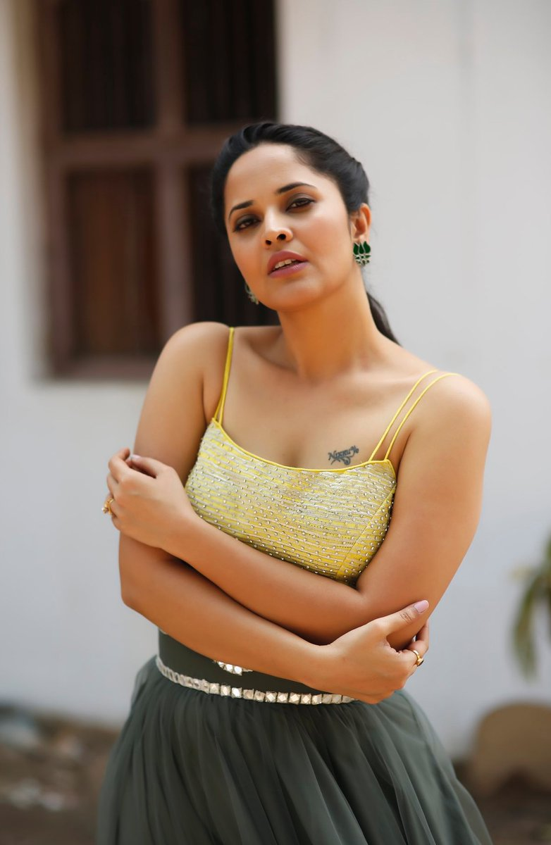 Telugu Actress Anasuya Bharadwaj Latest Hot Stills -4932