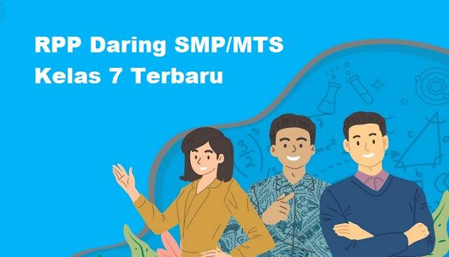 RPP Daring SMP/MTS Kelas 7 Terbaru Tahun 2020 | Mautidur.com