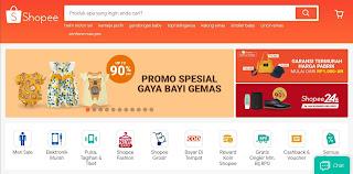 Download Template Blog Mirip Shopee untuk Jual Beli Online