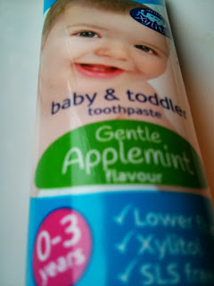 apple mint tooth paste